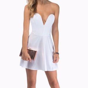 TOBI Deep in Love Sweetheart Dress